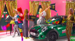 guess or drag it out paddy power win a car competition drag queens Mini Cooper